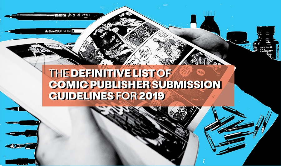 Comic, Manga, and Graphic Novel publishers who accept creator submissions in 2019